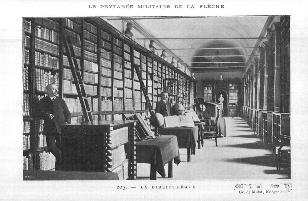 Vue de la Bibliothèque, extrait de la Revue hebdomadaire
