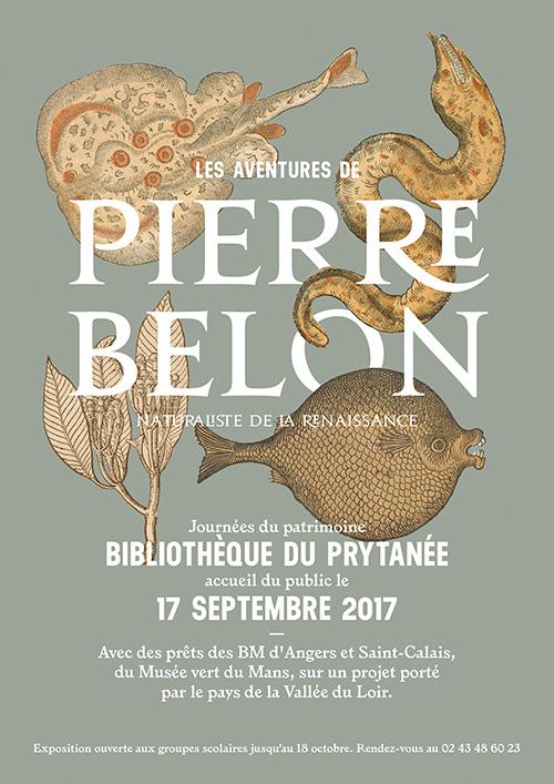 Affiche Pierre Belon