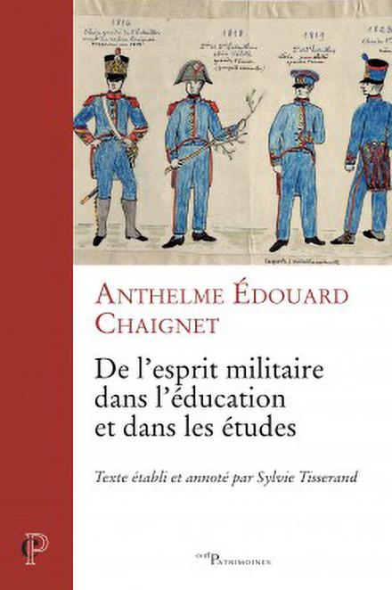 Couverture De l'esprit militaire dans l'éducation et dans les études