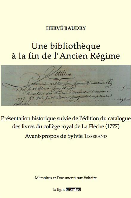 Une bibliothèque à la fin de l'Ancien Régime