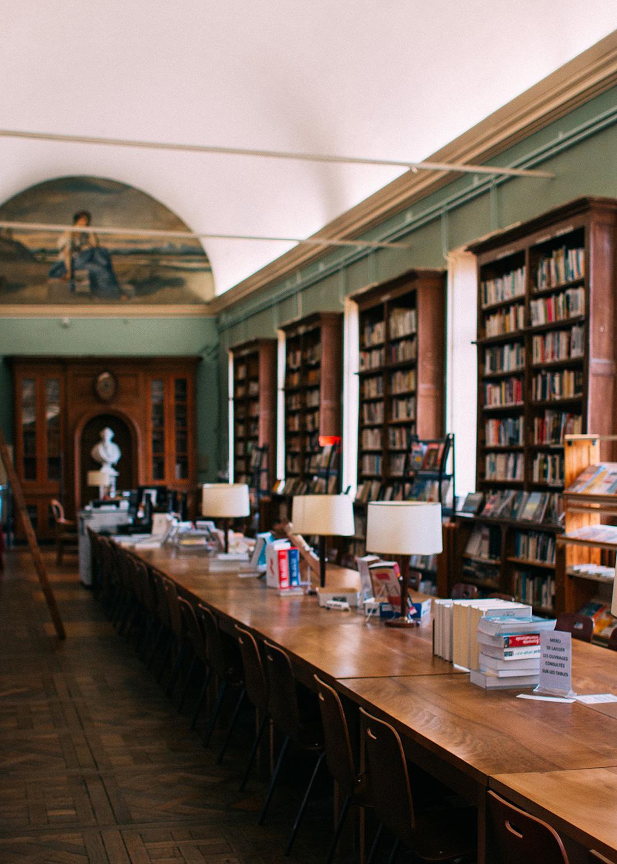 Bibliothèque (photo)